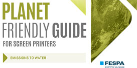Emissions to Water – Screen Printers